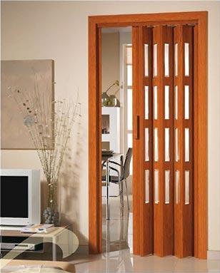 Aluminios garcilaso productos puerta plegable de pvc con vidriera carpinter a de aluminio - Puertas tipo fuelle ...